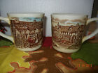 Johnson Brothers Coffee Mugs -Olde English Countryside -Lot of 2 Made in England