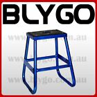 BLUE Steel Static 405mm Stand 50cc 125cc 150cc 160cc PIT PRO TRAIL DIRT BIKE
