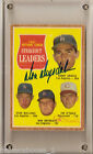 1962 Topps #60 Don Drysdale Jim O'Toole Autographed AUTO Card STRIKEOUT LEADER
