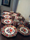 Fitz and Floyd Empress Old Imari Dessert/Luncheon Mugs and Plates