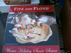 L@@@@K FITZ AND FLOYD WINTER HOLIDAY 12 1/2