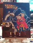 Rick & Morty Back To The Future Painting (The Only One EVER) FREE SHIPPING!!!!!!