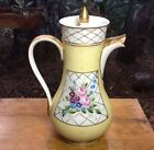 Antique Limoges Hand Painted Teapot , Display Piece Only!!