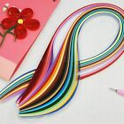 12 Stripes 5mm Width 24 Colors Quilling Paper Origami DIY Craft Handcraft Toy