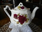 SON ROSE TEAPOT  4 CUPS STAFFORDSHIRE ENGLAND