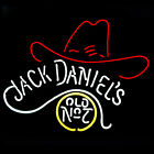 Jack Daniels Old No-7 Cowboys Hat neon sign For pub home carage  beer bar store