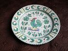 GRAZIA DERUTA MAJOLICA Hand Painted Rooster Plate Made in Italy