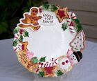 VINTAGE FITZ AND FLOYD COOKIES FOR SANTA PLATE 1992 NUTCRACKER SWEETS