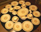 Vintage Edwin Knowles ROYAL KNOWLTON Service For 4 WITH ALL THE EXTRAS 22K Gold
