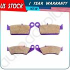 F+R Carbon fiber Brake Pads for HONDA CR125 R CRF 230 XR 250 XR 400 XR 600