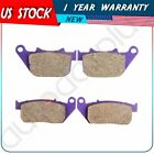 Front+Rear Brake Pads For Harley Sportster Series XL 50 XL 883 XL 1200 2004-2014