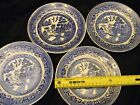 """""""- WILLOW PATTERN PLATES cr late 19th"""
