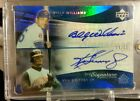 2005 UD reflections, griffey jr Billy williams dual auto, 14 35.
