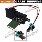 AC Blower Motor Resistor Control Module w/Light Duty For Chevy Express 1500 2500