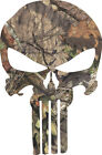 Punisher Realtree Mossy Oak Window Decal - Various Sizes Regular And Reflective