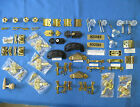 Sellers-Hoosier-McDougall- BRASS/GLASS Drawer Handles-Knobs-Latches-Hinges-Repr