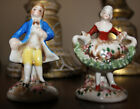 -Rare Vintage Made in Japan 2 Porcelan  figurines