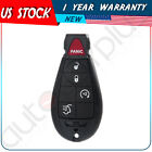 New Uncut Replacement Key Fob Keyless Entry Remote Transmitter for Fobik - 5btn