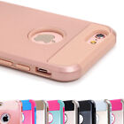 For iPhone X 8 7 6s Plus 5 Case Shockproof Hybrid Rugged Rubber Hard Armor Cover