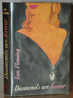 1ST 1ST UK EDITION WORIGINAL UNCLIPPED JACKET DIAMONDS ARE FOREVER IAN FLEMING