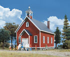 3656 Walthers Cornerstone Cottage Grove School HO Scale Kit