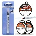 BeadSmith Fireline Beadalon Wildfire Beading Threads or Wildfire Cord Cutter