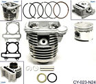 GY6 39mm 50cc Cylinder Head Piston Gasket Kit fits ATV Go Kart Moped Scooter E2