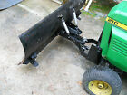 Cycle Country 60 Plow w Custom Front Sleeve Hitch Mount JD 210 212 214 216