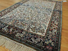 RARE Semi-Antique Persian Qum 3x5 3x4 Oriental Rug Tree of Life design SILK