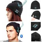 NEW Beanie Hat Wireless Bluetooth Smart Cap Headphone Headset Speaker Running