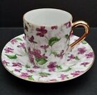 Vintage Fine China Espresso Cup with Gilt
