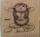 NEW House Mouse by Stampendous Jelly Bean Thief Wood Mounted Rubber Stamp