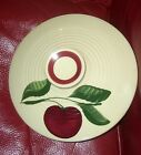 Vtg. Watt Pottery Apple Pattern 9 Inch Ribbed LID ONLY for Bowl , Casserole