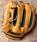 Baseball T-ball Glove Franklin RTP Series Leather Youth 9.5