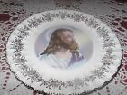 VINTAGE BUFFALO CHINA DECORATIVE PLATE RELIGIOUS INSPIRATION JESUS