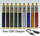 Carbon Spinner 3 1650 mAh Variable Voltage Battery Vision 2 Replacement FREE USB