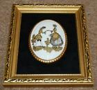 harleigh fine bone china picture countess silhouette staffordshire wall plaque