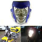 Honda Suzuki Yamaha Kawasaki Blue Streetfighter Motorcycle Headlight Fairing New
