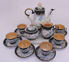 Hand Painted Dragonware Dragon Lusterware Demitasse Coffee Tea Set Japan 15 PCS