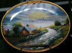 THOMAS KINKADES' SCENES OF SERENITY ASHLEYS COTTAGE PLATE