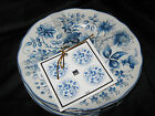 222 FIFTH IONIA ROUND APPETIZER PLATES - SET OF 8 - NEW