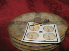 222 FIFTH BUMP IN THE NIGHT APPETIZER  PLATES - Set of 8 - New