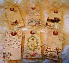 Vintage Collage Hang 6 Large Tags Scrapbooking Cards Crafts 7 judysjemscrafts