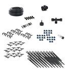 Drip Irrigation Kit for Container Gardening Deluxe Size Water 30 Plants