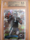 CAM NEWTON 2011 TOPPS CHROME ATOMIC CRYSTAL REFRACTOR ROOKIE SP BGS 9.5 NON AUTO