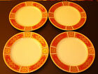 Butter 4 Plates Gold Design