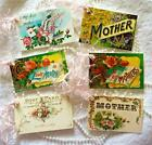 Vintage Mothers Day 6 Small Hang Tags Gifts Scrapbook Cards 89 judysjemscrafts