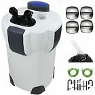 525 GPH AQUARIUM CANISTER FILTER 9W UV Sterilizer FRESH/SALT WATER 175G