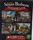 Karmin Americana Collection 4-Pack Each 500-Piece Jigsaw Puzzles Art by Brabeau