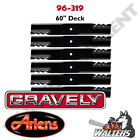 Set of 6 Gator Blades 96 319 for Gravely  Ariens 60 Deck